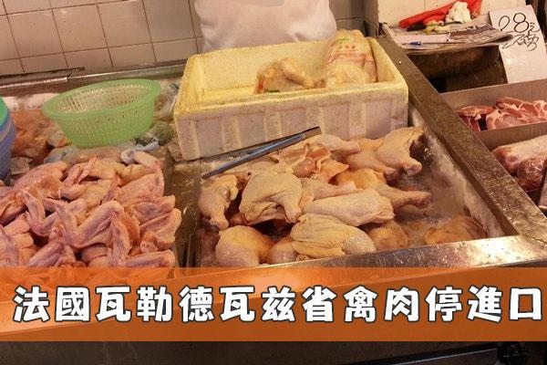 法國瓦勒德瓦茲省禽肉停進口